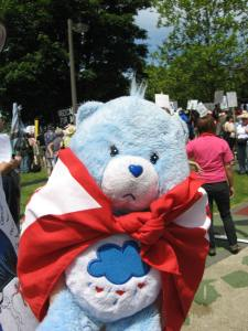 Don't forget healthcare bear!